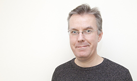 Portræt af Jesper Mikkelsen