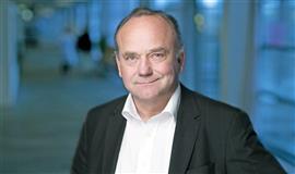 Et billede af hospitaldirektøren Torben Ø Pedersen